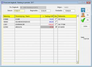Financieel dagboek