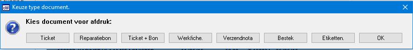 werkfiche + ticket